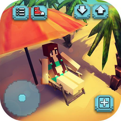 Eden Island Craft: 钓鱼与建筑游戏