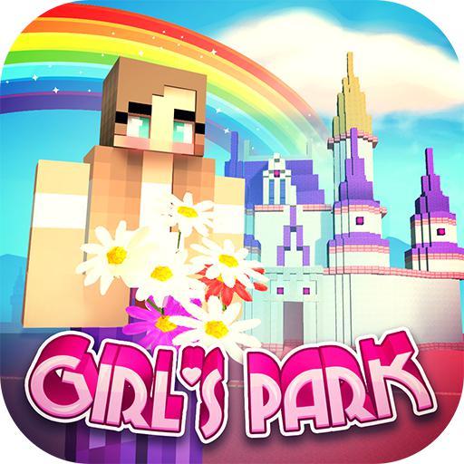 女孩主题公园世界:有水滑梯的乐园