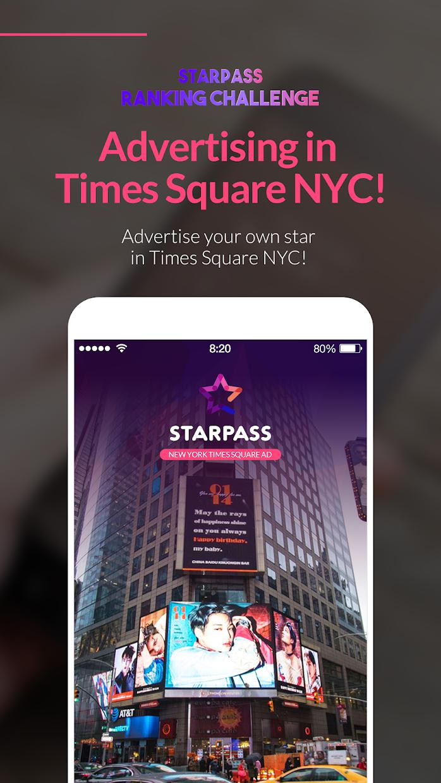 STARPASS - idol fandom app, SBS MTV The Show vote 游戏截图2