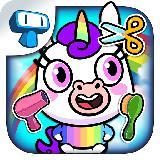 My Unicorn Virtual Pet - Cute Animal Care Game