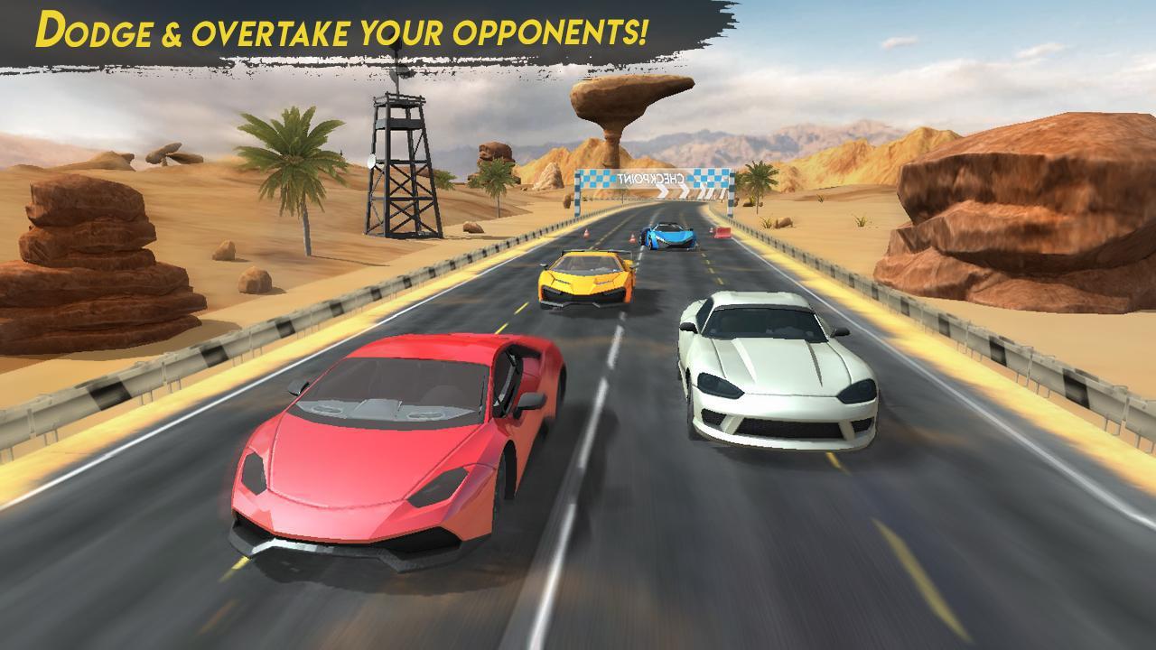Racing Car 2018 游戏截图5