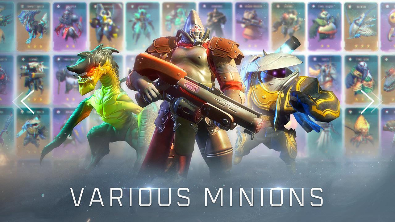 赤潮自走棋(Arena of Evolution: Chess Heroes) 游戏截图1