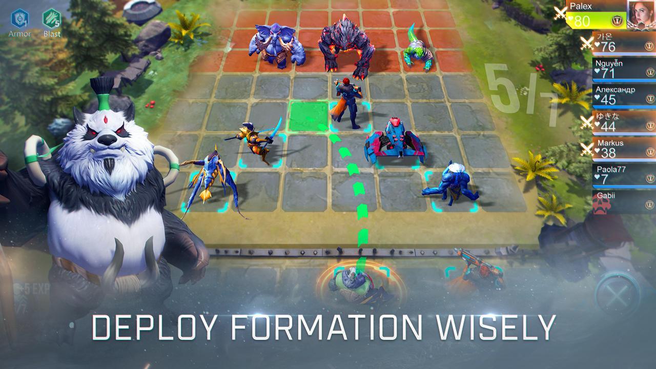 赤潮自走棋(Arena of Evolution: Chess Heroes) 游戏截图3