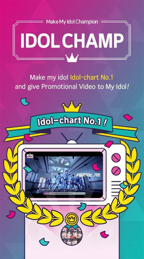IDOLCHAMP - Showchampion, Fandom, K-pop, Idol 游戏截图1