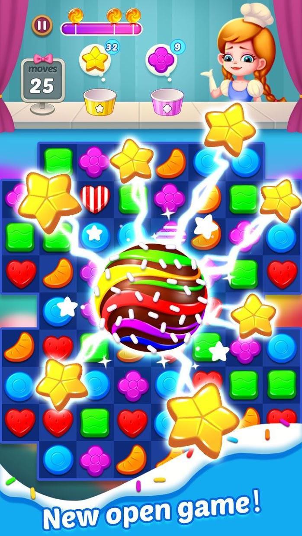 Candy Holic : 2019 Match 3 puzzle adventure 游戏截图3