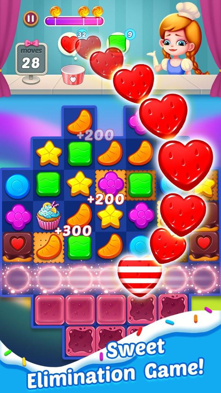 Candy Holic : 2019 Match 3 puzzle adventure 游戏截图5