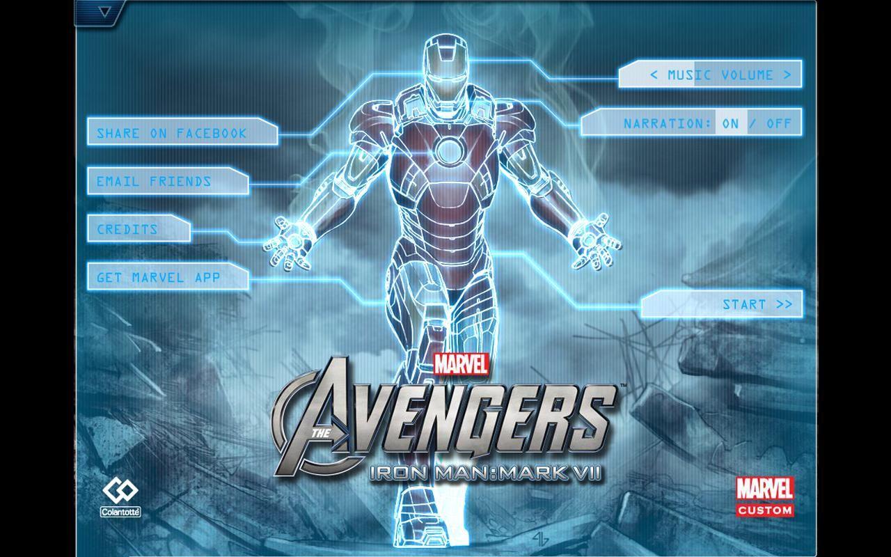 The Avengers-Iron Man Mark VII 游戏截图1