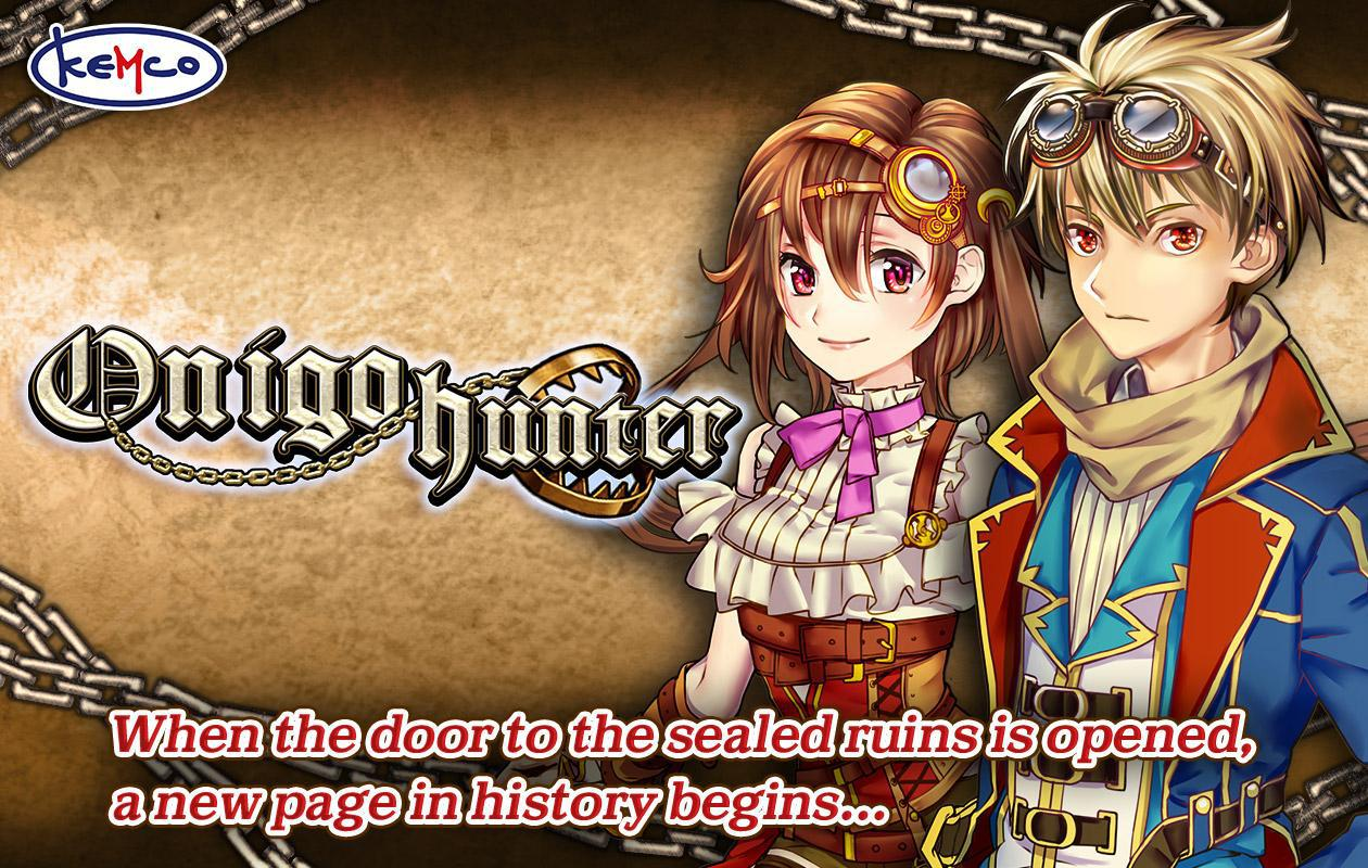 RPG Onigo Hunter 游戏截图1