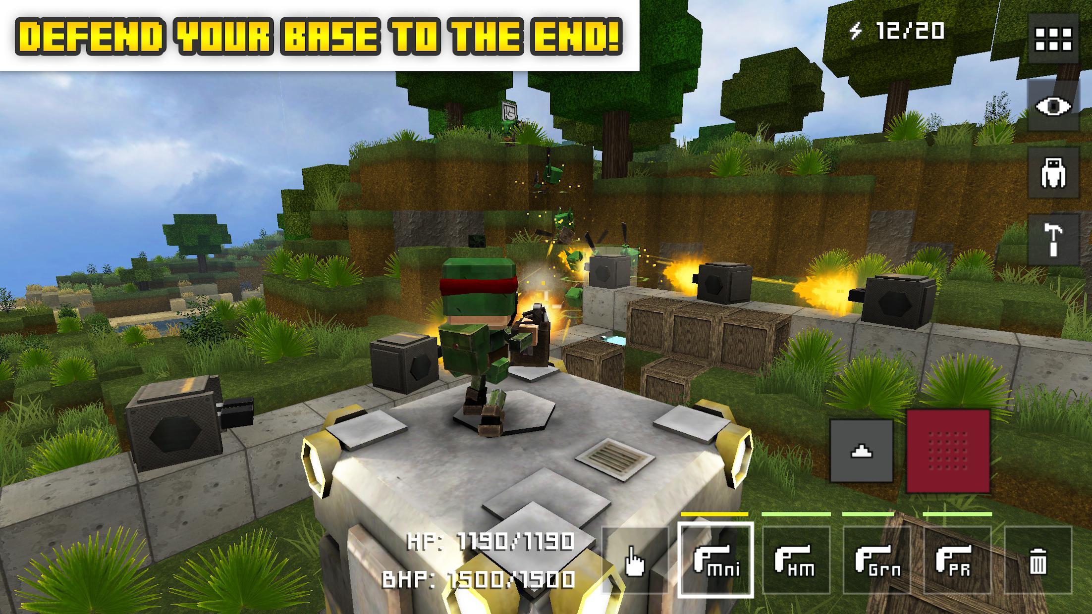 Block Fortress 游戏截图1