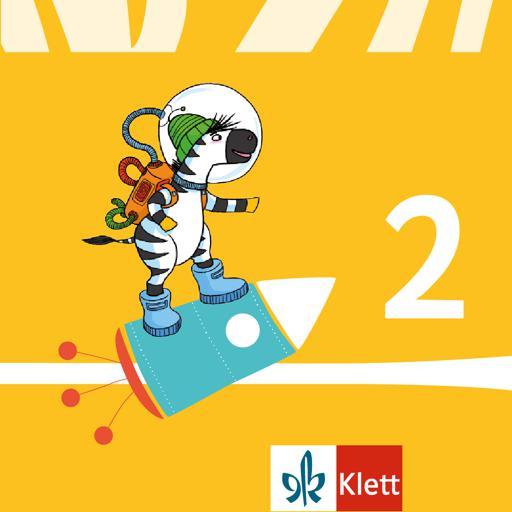 Lesen lernen 2 mit Zebra