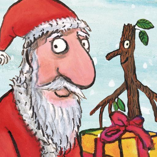 Stick Man: Helping Santa