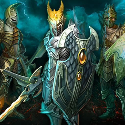 Войны титанов онлайн RPG битва