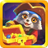 Raccoon's Adventure: The Pirate Island - Match 3