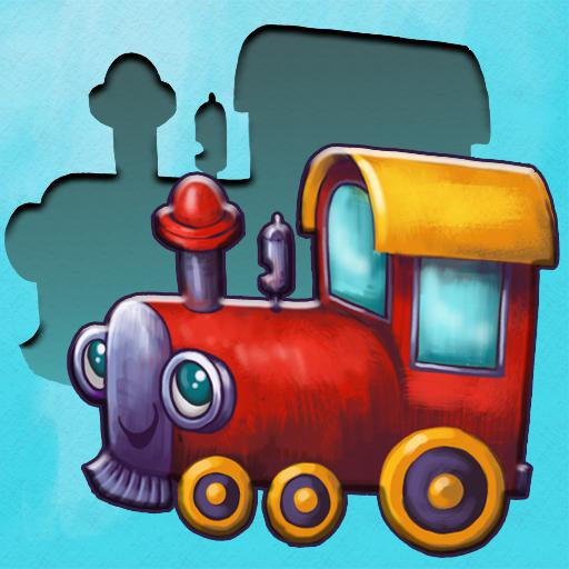 Choo : match shape puzzle toddler games