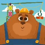 Mr. Bear & Friends: Construction Puzzle for Kids