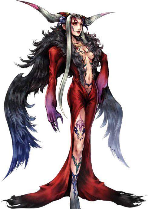 最终幻想15六神图鉴之甘地亚娜的介绍