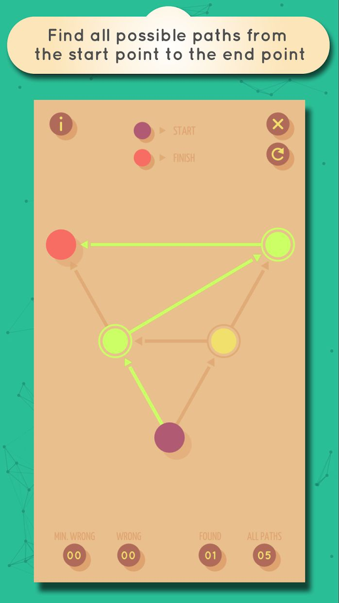 GRAPHZ: Dots and Lines Puzzles 游戏截图3