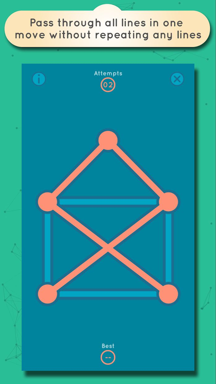 GRAPHZ: Dots and Lines Puzzles 游戏截图4