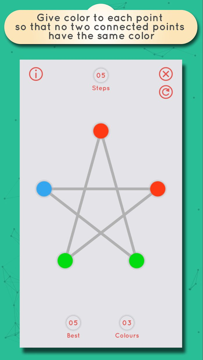 GRAPHZ: Dots and Lines Puzzles 游戏截图5