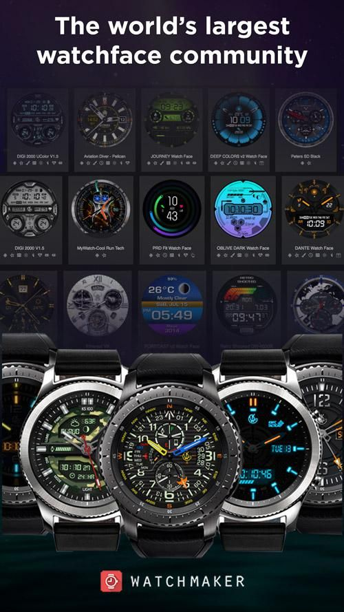 WatchMaker Watch Faces 游戏截图2