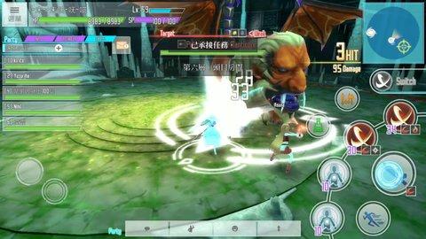 刀剑神域关键斗士最新 初刷技能技巧与玩法