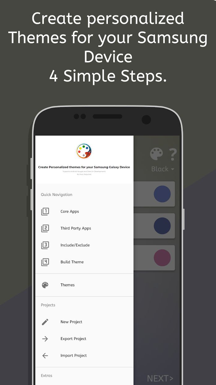 theme Galaxy - Theme Maker for Samsung Galaxy 游戏截图2
