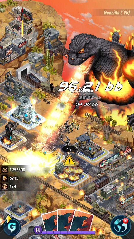 Godzilla Defense Force 游戏截图1