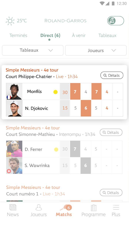 Roland-Garros Officiel 游戏截图3