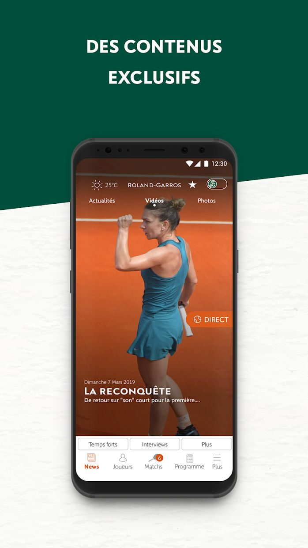 Roland-Garros Officiel 游戏截图4