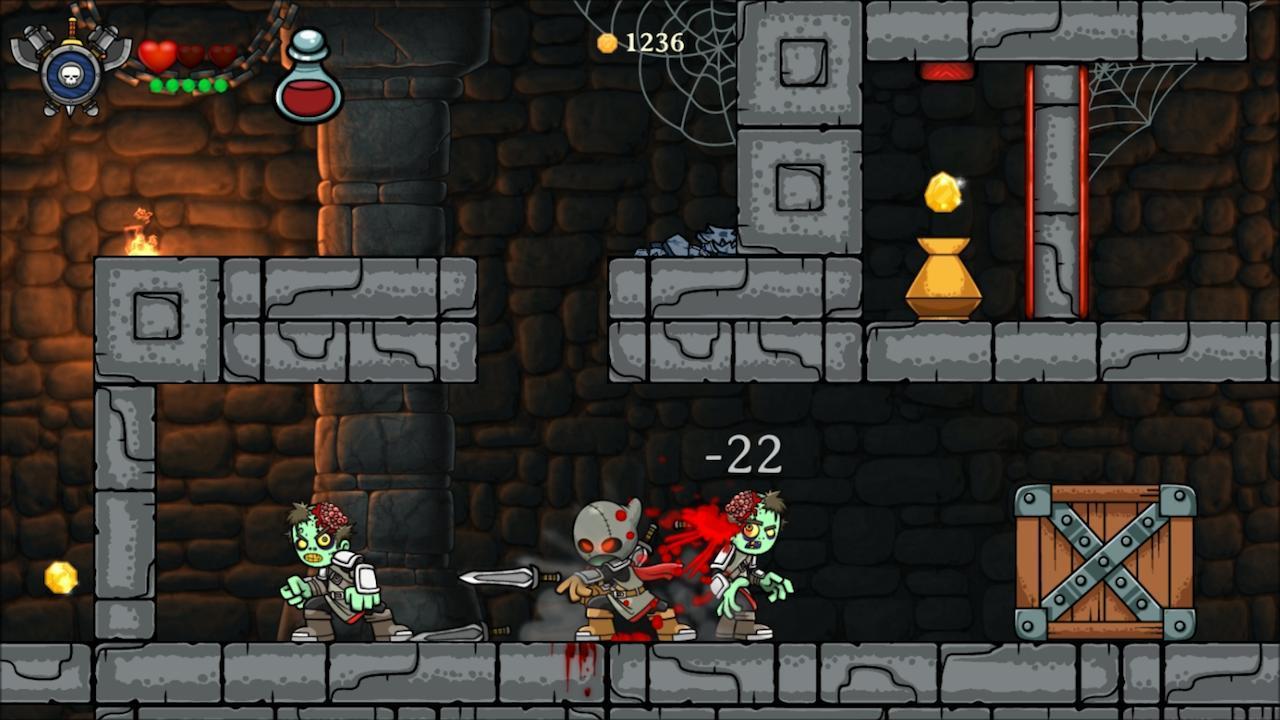 魔法狂暴 Magic Rampage:离神作只差一步的横版闯关游戏