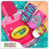 Crayola美甲派对 Crayola Nail Party