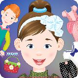 儿童装扮和化妆游戏