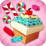 Candy Land Craft: 女生建筑游戏 2018