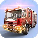城市消防员卡车驾驶救援模拟器3D