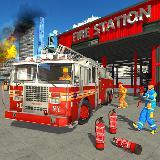 消防队员 卡车 模拟器: 拯救 游戏