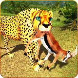 Cheetah Attack Simulator 3D Game Cheetah Sim