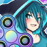 Anime Fidget Spinner Battle