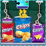 薯片工厂游戏 - 美味的食物制造商