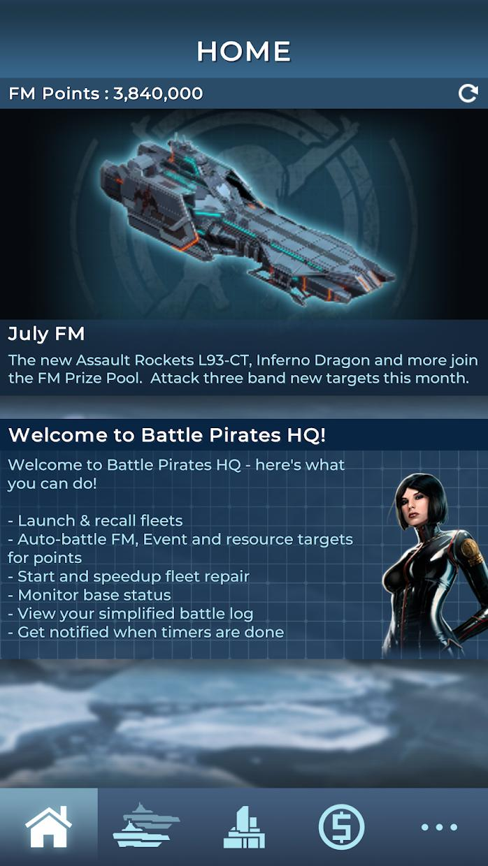 Battle Pirates HQ 游戏截图2