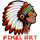 pixel art indian