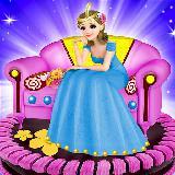 Princess Sofa Cake Maker Game: Kitchen Doll Chef