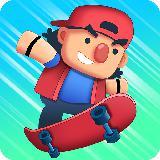 Tap Skaters - 速降滑板比赛游戏