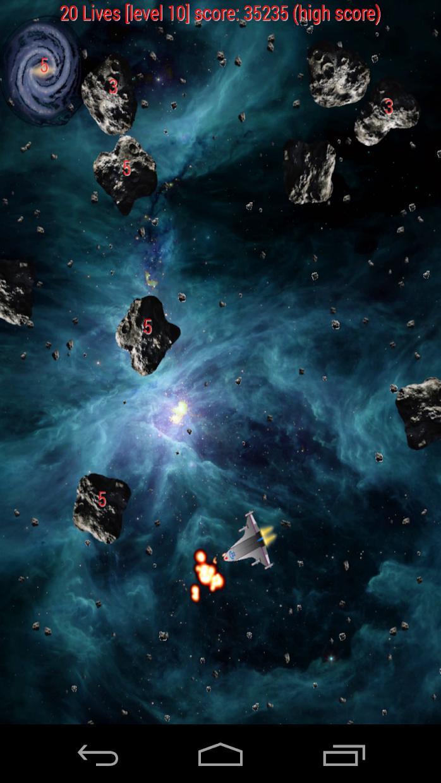 Asteroid War 游戏截图3