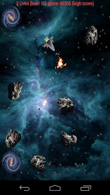 Asteroid War 游戏截图4