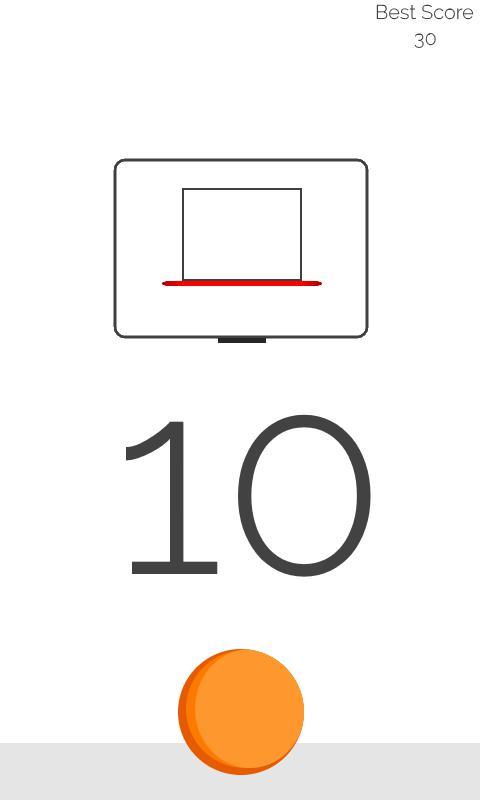 Simple Hoops - Basketball Game 游戏截图1