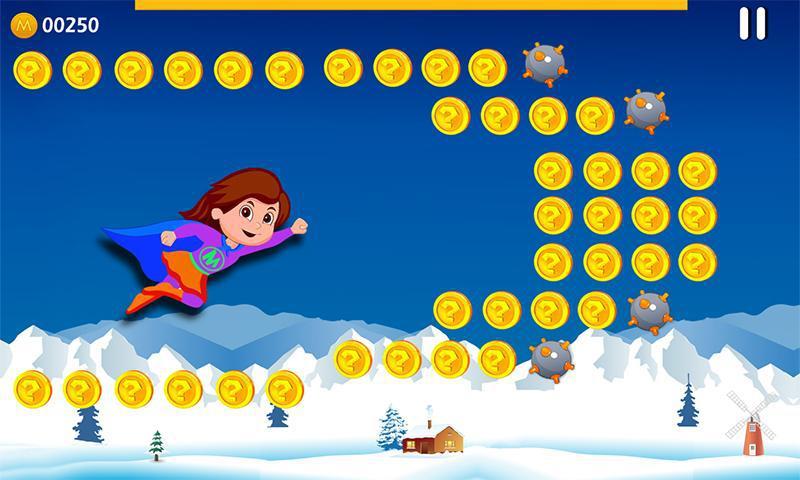 Super Girl Adventure 游戏截图1