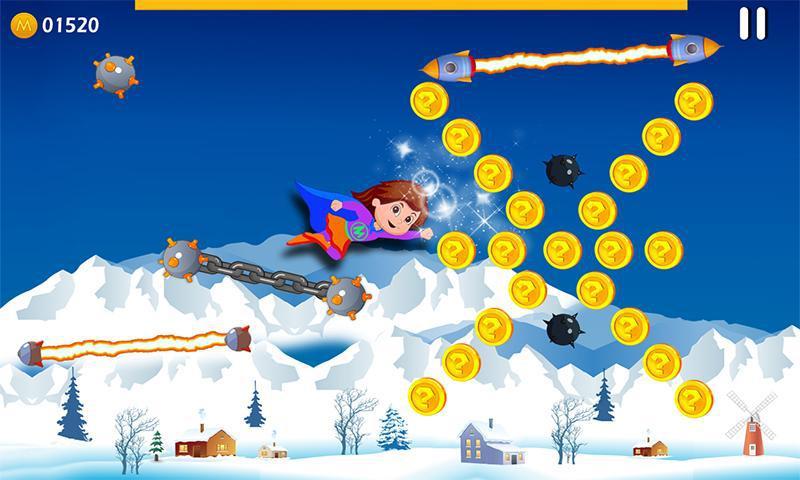 Super Girl Adventure 游戏截图3
