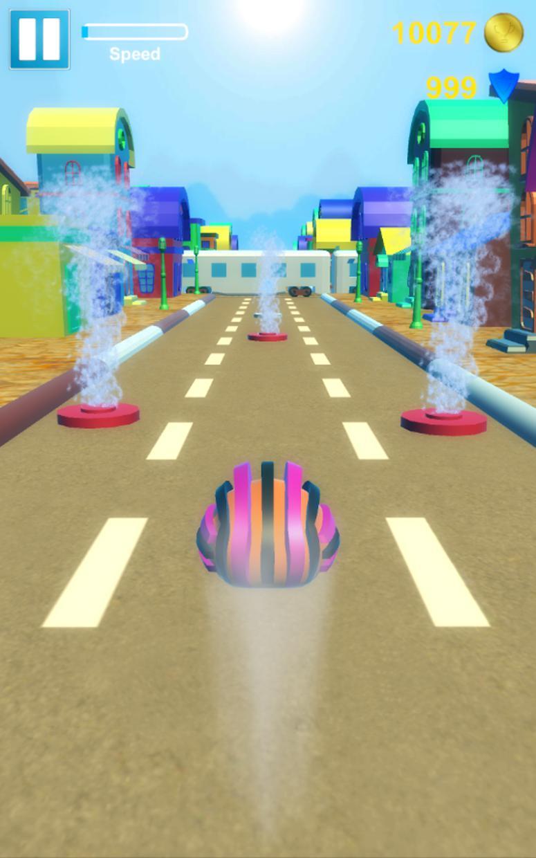 Hedgehog Pet Run 游戏截图2