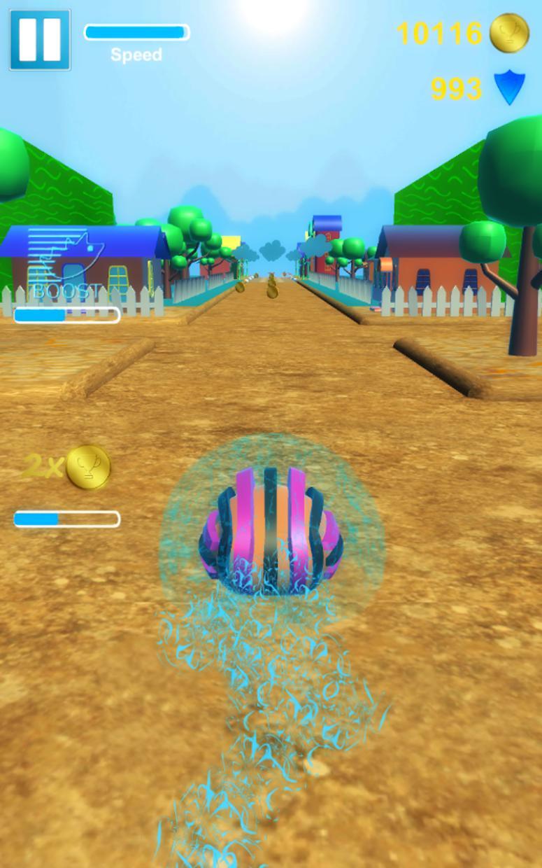 Hedgehog Pet Run 游戏截图3