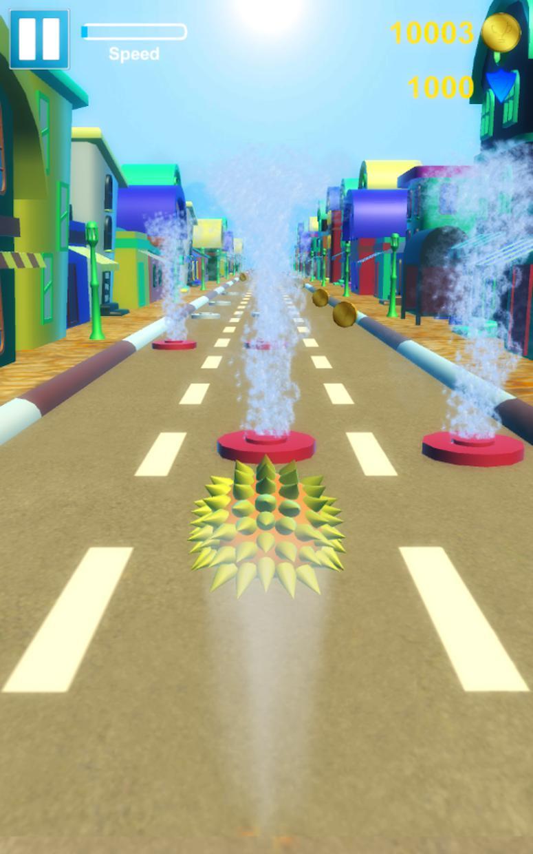 Hedgehog Pet Run 游戏截图4